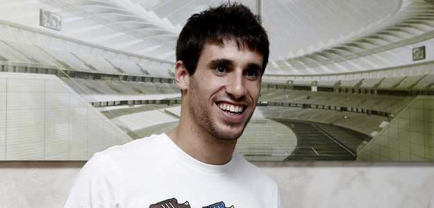 El centrocampista internacional español, Javi Martinez.