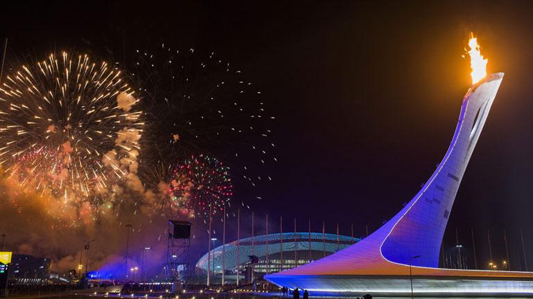 El fuego olímpico ya ilumina los XXII Juegos Olímpicos de Sochi