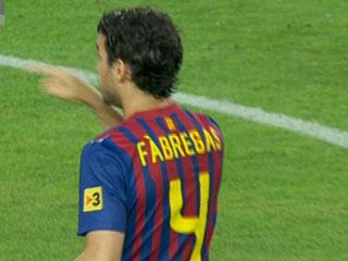 Ver vídeo  'Cesc debuta con el Barça'