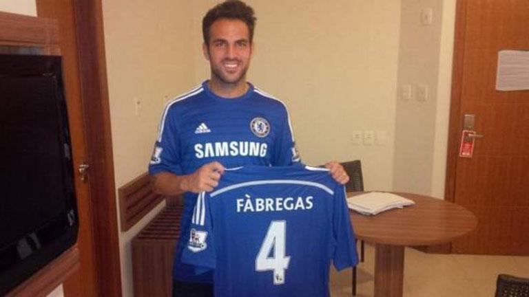 Cesc, nuevo jugador del Chelsea