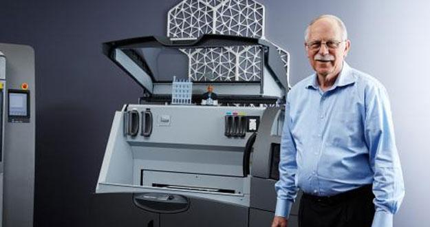 Charles Hull impresión 3D