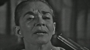 Ver v&iacute;deo  'Chavela Vargas present&oacute; su &uacute;ltimo disco &quot;Luna Grande&quot; un homenaje a Lorca'