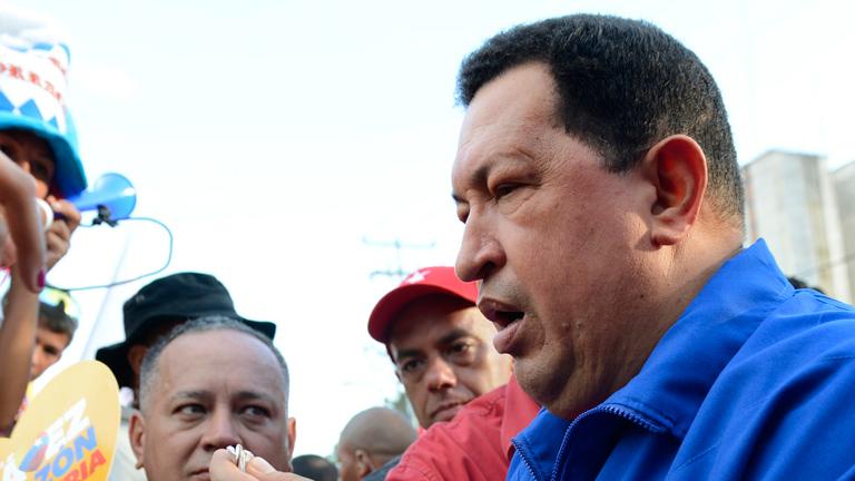 """Chávez asegura que si pudiera """"votaría por Obama"""""""
