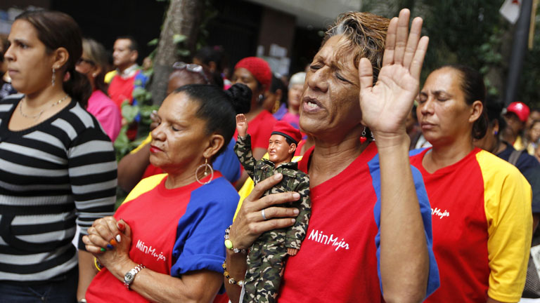 La 'Chavezmanía' se extiende por América Latina