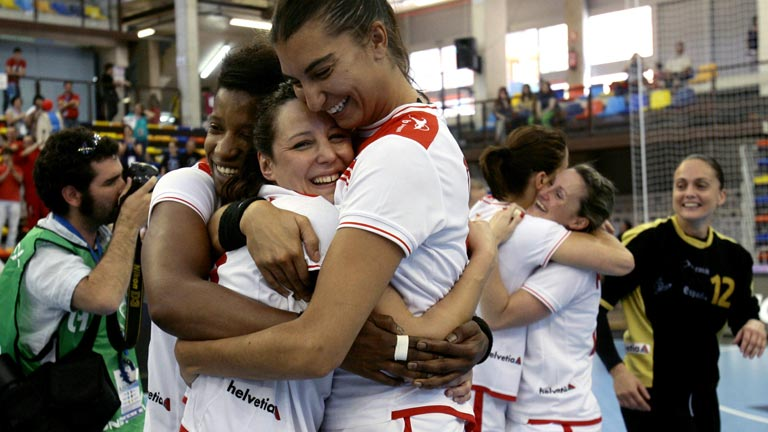 Las chicas del balonmano, a Londres 2012