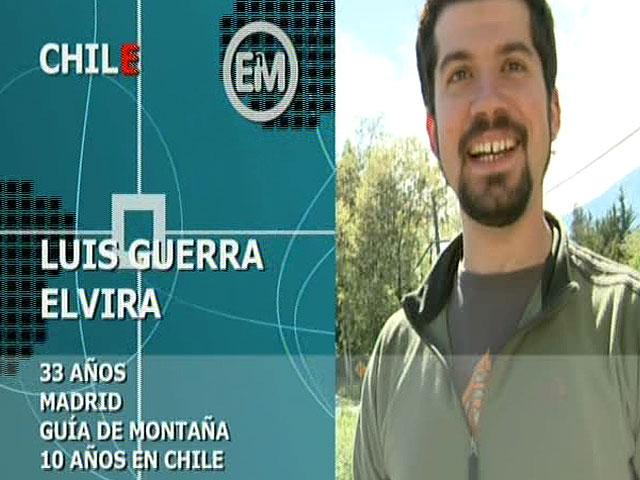 Españoles en el mundo - Chile - Luis