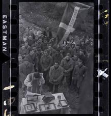 Chim (David Seymour)[Misa de campaña para soldados republicanos, cerca de Lekeitio, País Vasco, España], enero¿febrero 1937