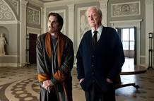 Christian Bale y Michael Caine repiten como Bruce Wayne y Alfred