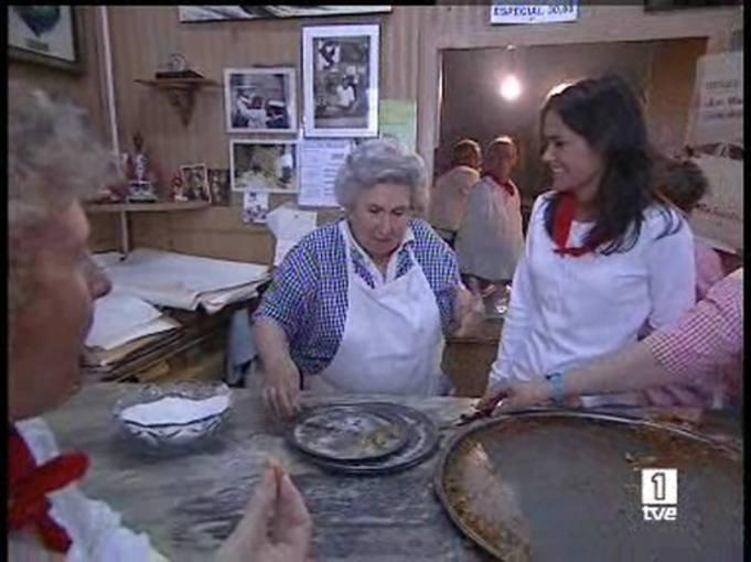 Ver vídeo  'Los churros de La Mañueta, una tradición centenaria de los Sanfermines'
