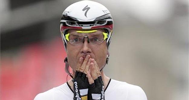 El ciclista alemán, Tony Martin, fue campeón del mundo contrarreloj en 2011.