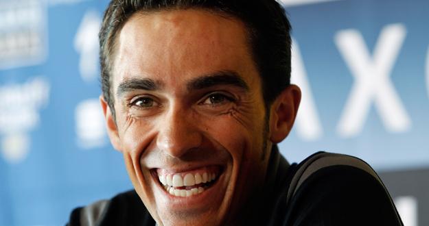 El ciclista español Alberto Contador.