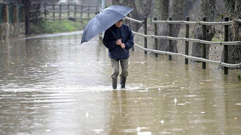Precipitaciones fuertes o persistentes en buena parte de la península