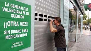 Ver vídeo  'Cierre patronal de las farmacias en la Comunidad Valenciana'