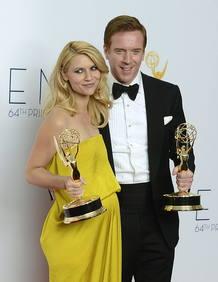 Claire Danes y Damien Lewis