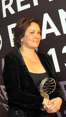Clara Sánchez, orgullosa tras conocer su triunfo en el Premio Planeta 2013