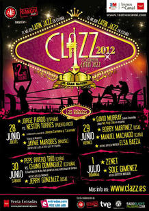 El cartel de Clazz 2012