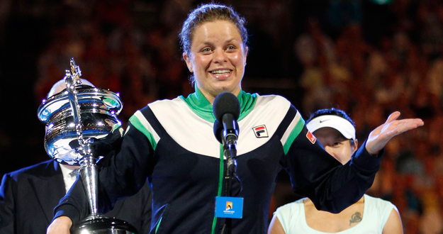 Kim Clijsters ha vencido a la tenista china Na Li en la final del Open de Australia.