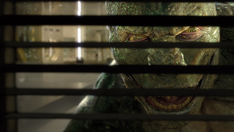 Clip de 'The amazing Spiderman': El Lagarto ataca