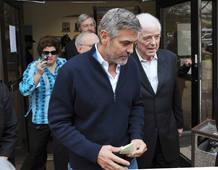 Clooney, puesto en libertad