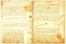 El 'Códice Leicester' atribuido a Leonardo da Vinci