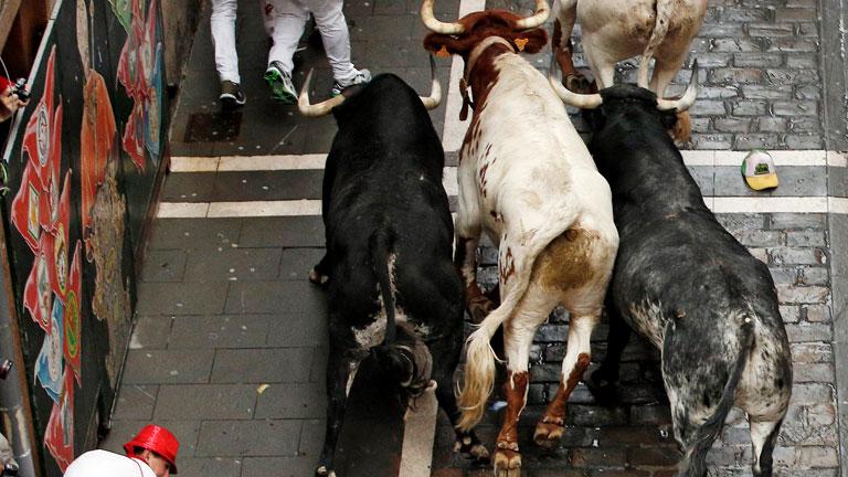La cogida y el peligro del toro que va por la izquierda