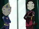 Imagen del  vídeo de Código Lyoko en inglés titulado COLD SWEAT