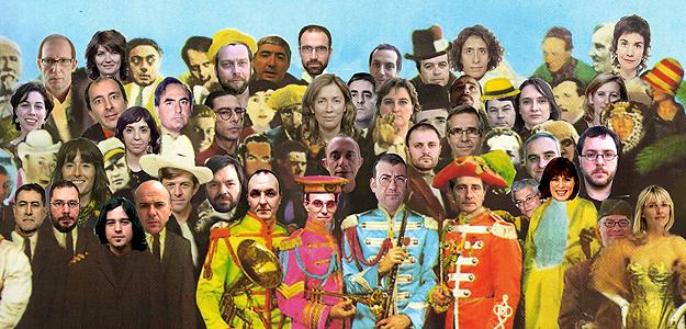 'Collage' hecho por el equipo de Días de Cine para celebrar los 20 años de emisión.
