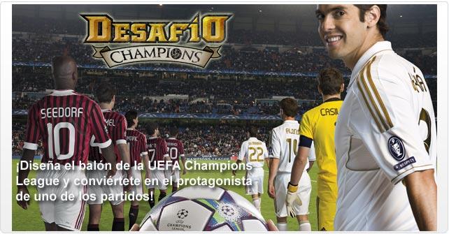 ¡Colorea y diseña el balón de la Champions League!