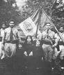 Combatientes con la bandera cristera