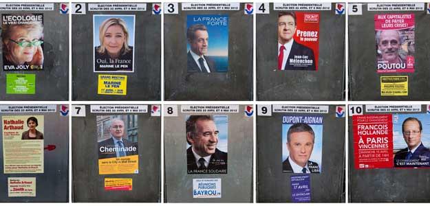 Campaña electoral en Francia