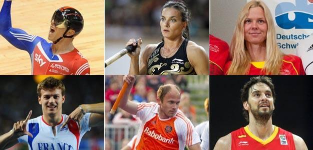 Los equipos europeos confían en sus máximos exponentes para lograr medallas en Londres 2012