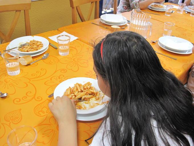 comedor niños
