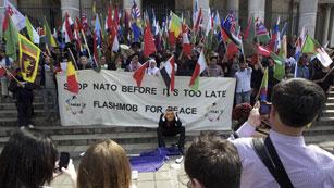 Ver vídeo  'Comienza en Chicago la cumbre de la OTAN donde se debatirá el futuro de Afganistán'