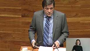 Ver vídeo  'Comienza el debate de investidura en Asturias'