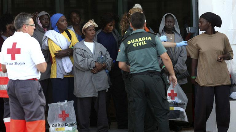 Comienza la identificación de inmigrantes en Tarifa