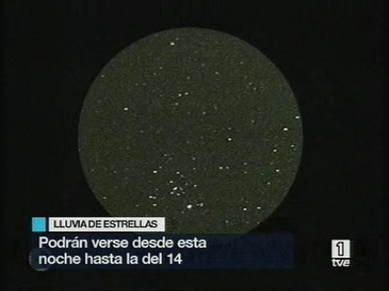 """Ver vídeo  'Comienza la noche de las """"Perseidas""""'"""
