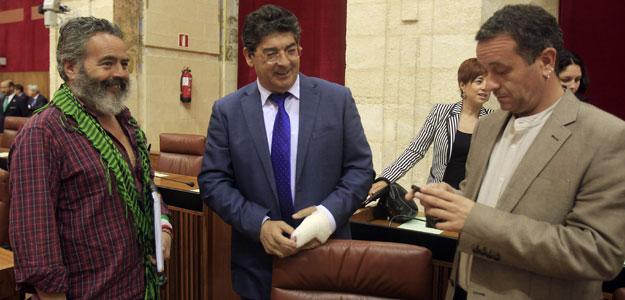 COMIENZA EL PLENO DE INVESTIDURA EN EL PARLAMENTO ANDALUZ