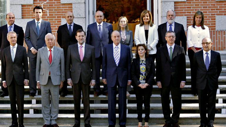 Comienza la reunión del rey en la Zarzuela previa al Consejo de Ministros