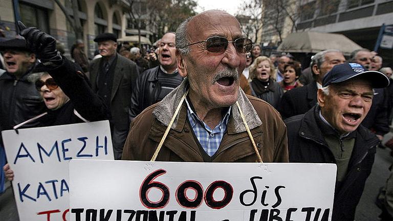 Cómo fue el rescate en Grecia, Irlanda y Portugal