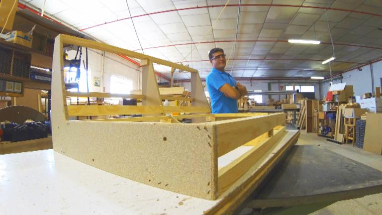 Fabricando Made in Spain - Cómo se fabrican los sofás