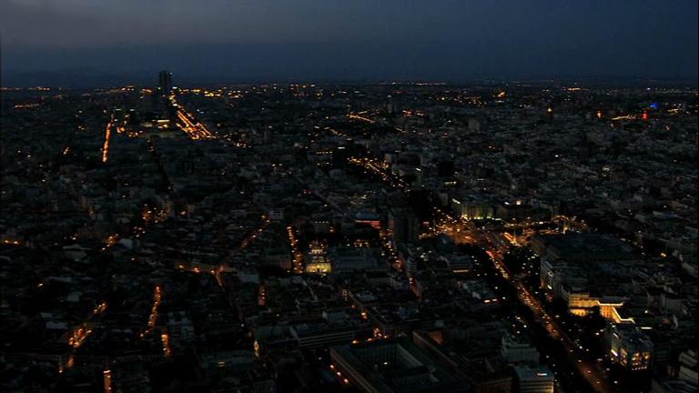 España a ras de cielo - ¿Cómo se ilumina una ciudad?