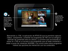 Cómo usar +TVE en tabletas Android - 1
