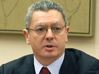 Ver vídeo  'Comparecencia íntegra del ministro de Justicia Alberto Ruiz Gallardón'