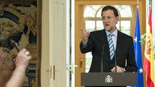Ver vídeo  'Comparecencia de Rajoy para explicar el rescate'
