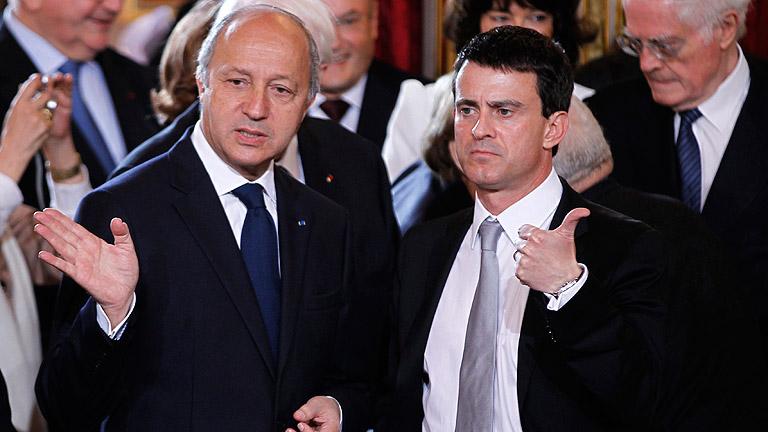 Composición del nuevo gobierno francés