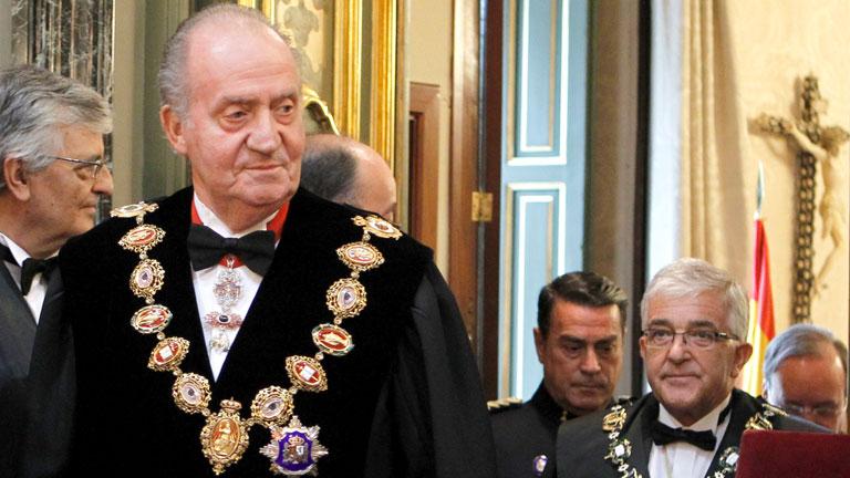 El Rey pide unidad y recuperar los valores de la transición