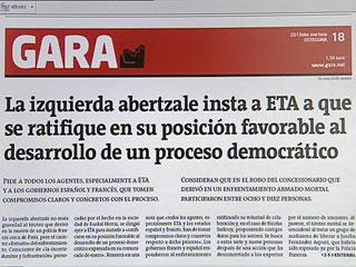Ver v?deo  'El comunicado de ETA llega cuando la banda terrorista atraviesa sus horas más bajas'