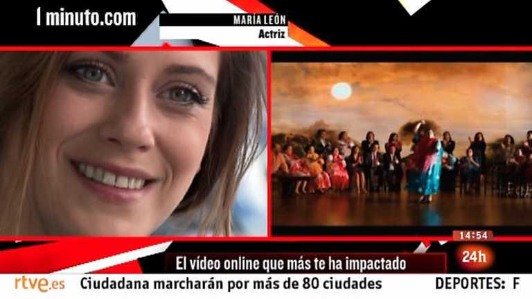 Cámara abierta 2.0 - La comunidad NASF, el blog Yo fui EGB, el concurso Documenta y la actriz María León en 1minutoCOM - 23/02/12