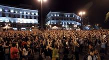 CONCENTRACI&Oacute;N PUERTA DEL SOL CONTRA RECORTES DEL GOBIERNO