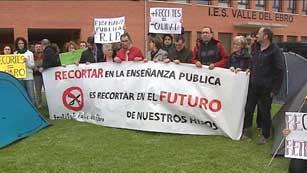 Ver vídeo  'Concentraciones por la huelga en la enseñanza en distintos puntos de España'